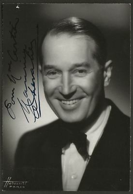Maurice CHEVALIER photo dédicacée
