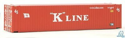 MAB++Walthers HO 45' CIMC Container K-Line #949-8563