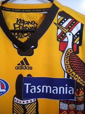 2018 Hawthorn Indigenous Guernsey Jumper Rioli Design Bnwt *sold Out* Rare & Htf