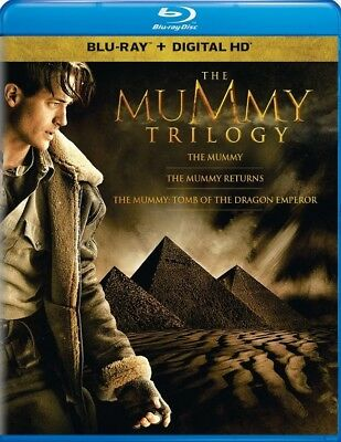 The Mummy Trilogy (Blu-ray Disc + Digital) New/Sealed!