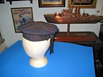 Civil War Navy Flat Hat ~ Original