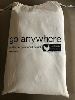 New Blackout Blind, Portable Large, Go Anywhere