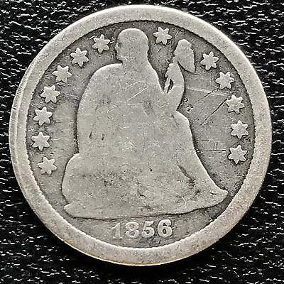 1856 O Seated Liberty Dime 10c nice coin  #5999