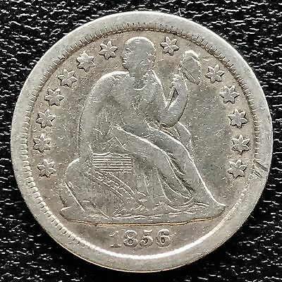1856 O Seated Liberty Dime 10c nice coin  #5998