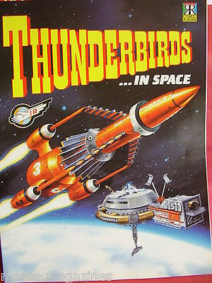 Thunderbirds In Space Ravette Books Gerry Anderson Graphic Novel Us Magazine~