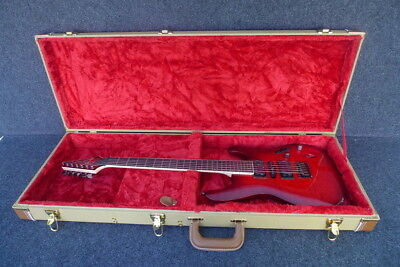 Tweed Hard Shell Guitar Case Fits Ibanez Slim Series S671 And Others