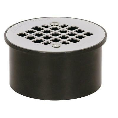 "Sioux Chief  3"" x 4"" Black ABS Floor Drain (LOT of 4) 840-3APK"