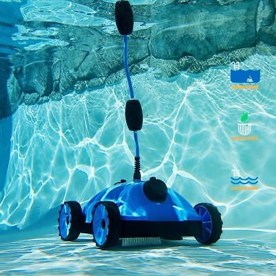 Robot Automatic Swimming Pool Cleaner 24V 42.6ft Above Ground Inground Blue
