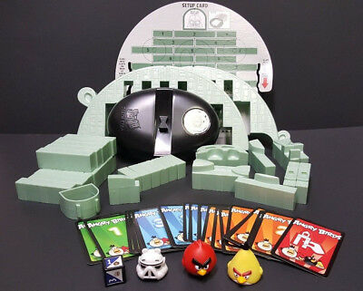 40+ pcs Angry Birds Pieces Star Wars Jenga Death Star And Angry Birds-Others