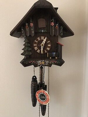 Small Original Black Forest Cuckoo Clock (as found)