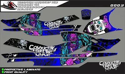 Yamaha waverunner vx deluxe decal graphic kit stickers