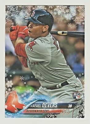 2018 Topps Holiday Mega #HMW67 RAFAEL DEVERS RC Rookie Boston Red Sox RETAIL