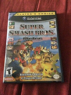 Super Smash Bros. Melee Nintendo GameCubeTested not working Scratched Disc Read