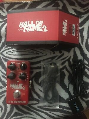 TC Electronic Hall of Fame Reverb 2 Pedal Red USB Cable