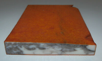 rare old German Bakelite / catalin veined block  , 115 g
