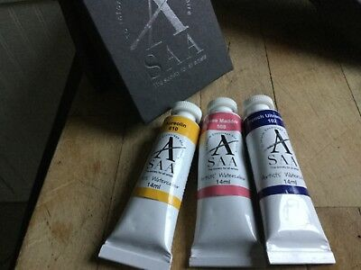 Saa Watercolour Paints Box Set Very Minor Use See Pictures
