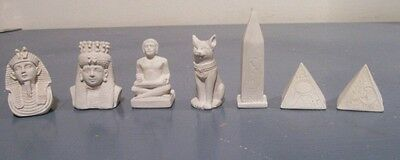 Egyptian Pyramid chess set latex moulds (small)