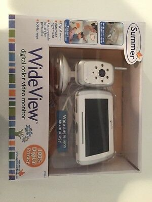 summer infant baby monitor system