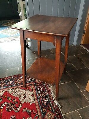 Arts and crafts antique coffee table