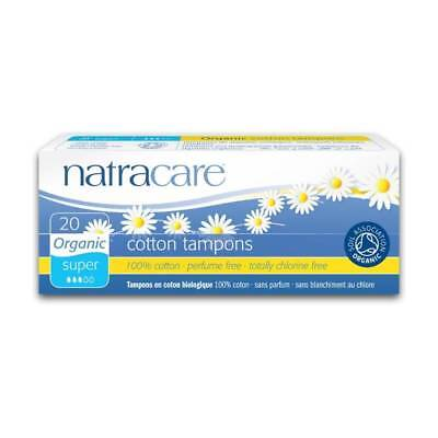 Tampons Super - Natracare - 20 Morceaux