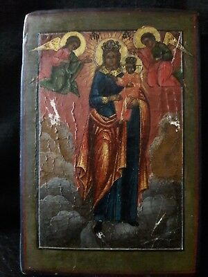 Antique Russian Icon. Ikon. 19 Th Century