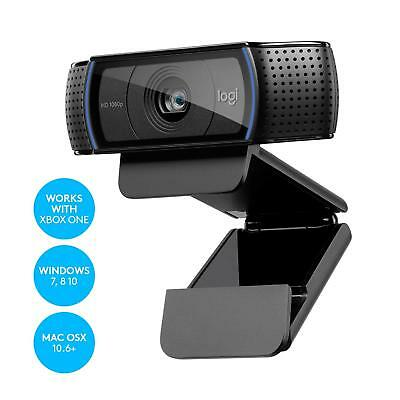 Logitech C920 Pro HD Webcam Full HD 1080p Video Calling & Recording Dual Stereo