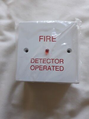 Box of 4 Fire Detector Operated Remote Indicator Box