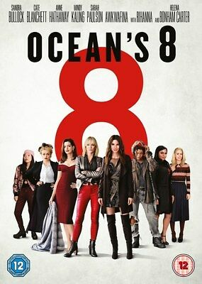 Oceans 8       Brand New Sealed Genuine  Uk Dvd