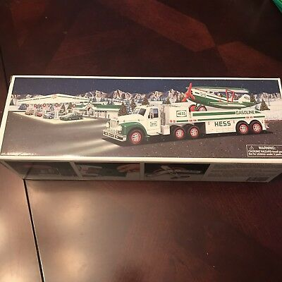Hess 2002 Toy Truck and Airplane  - New in Box