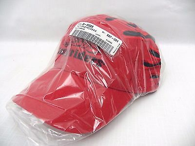 """"""" EASYRIDERS """" Harley Cruiser Motorcycle BASEBALL CAP Hat Embroidered RED Flame"""