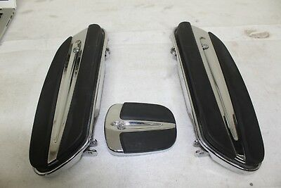 2013 Harley Davidson CVO Road Glide Touring OEM Front Floorboards And Pedal Pad