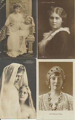 4 ROMANIA Royalty RPPC Maria Elisabeth LOT 9