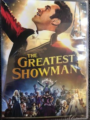 The Greatest Showman (DVD, 2018) New Sealed!  Free Ship
