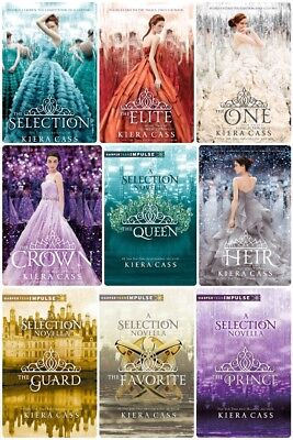 The Selection Series by Kiera Cass (All 10 Books) Complete Collection **EB00KS**