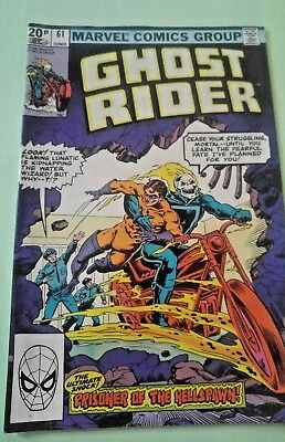 Ghost Rider Issue 61 1981 Marvel VINTAGE