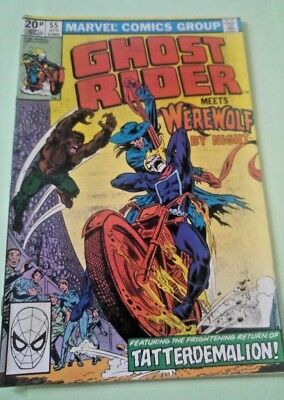 Ghost Rider Issue 55 1981 Marvel VINTAGE