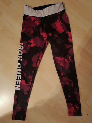 Fitnesshose gr.S, Leggings, Tight, Pink, Commuflage, Straight and Strong