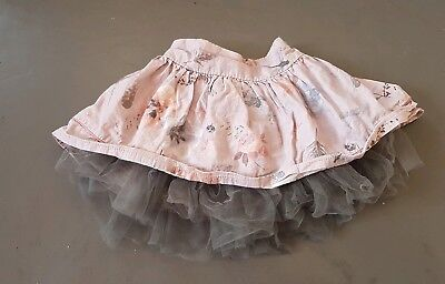 Next floral skirt with net underskirt age 12-18 months