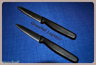 """Paring Knives ~ 2 Piece Set ~ 4"""" Blade ~ Made In Portugal ~ Super Sharp! New"""