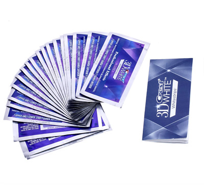 20 strips 10Pouch Crest 3D Whitestrips LUXE Professional Effect Teeth Whitening