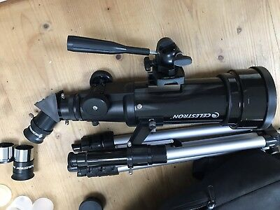Celestron Travel Scope 70 Telescope 70mm Used, VGC, With Rucksack