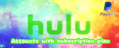 🔥SELLING🔥 | Premium Hulu Accounts | $1,50 USD | VERY CHEAP | FAST | GUARANTEED
