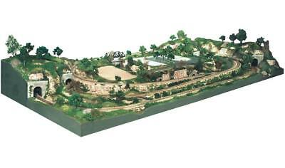 Woodland Scenics #S1488 HO SCALE 4'x8' River Pass Scenery Kit #2~MINT in BOX