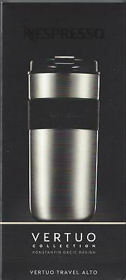 Nespresso Vertuo Travel Stainless Steel Mug Tumbler Cup Alto