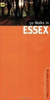 50 Walks in Essex by Katerina Roberts | Book | condition very good