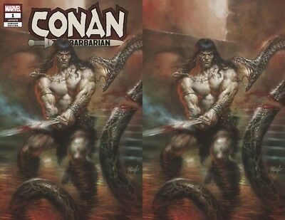Marvel Conan the Barbarian #1 Variant Virgin Cover Set Lucio Parrillo Pre-Sale!!