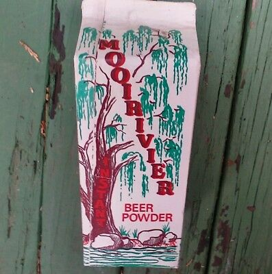 South African mooi river powered beer can drink carton