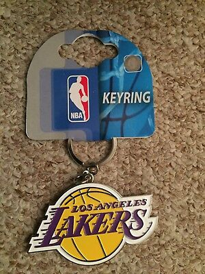 Los Angeles Lakers Official Basketball Gift Keyring
