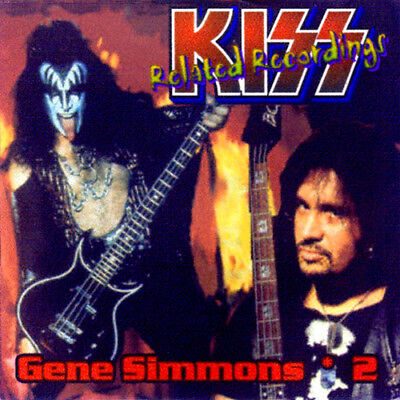 GENE SIMMONS *DEMOS CD-2 Doro King Kobra The Plasmatics Cheap Trick Dokken KISS