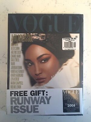 Vogue Italia A Black Issue 2008 Sessilee Lopez brand new sealed